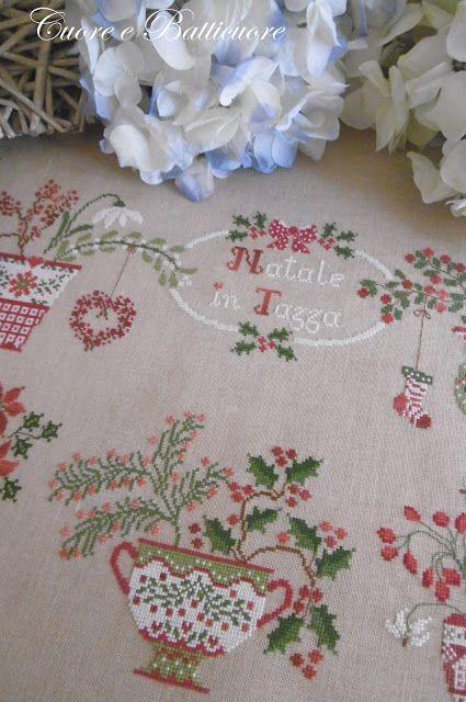 Cuore e Batticuore: Christmas cross stitching