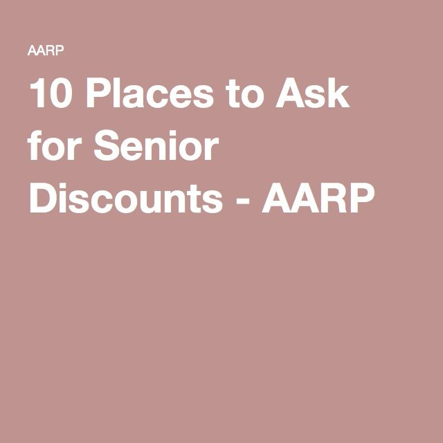10 places to ask for senior discounts photos money and places. Black Bedroom Furniture Sets. Home Design Ideas