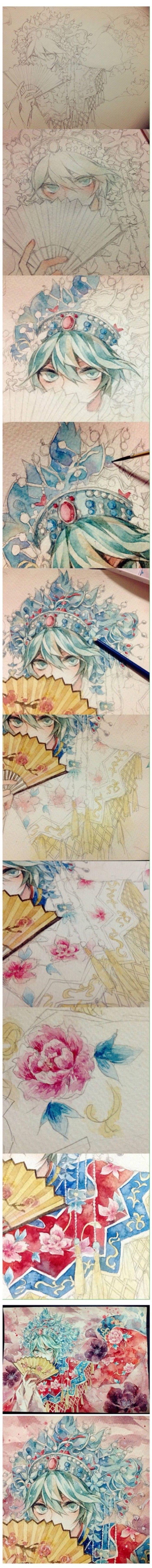 Oriental Watercolor