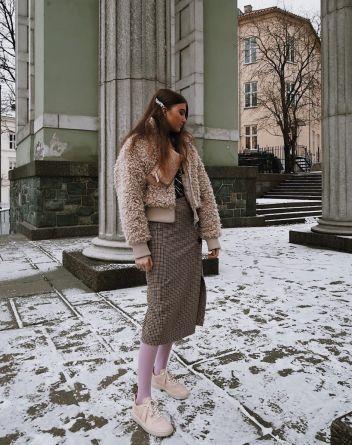 Maren Schia #winterstyle #sneakers
