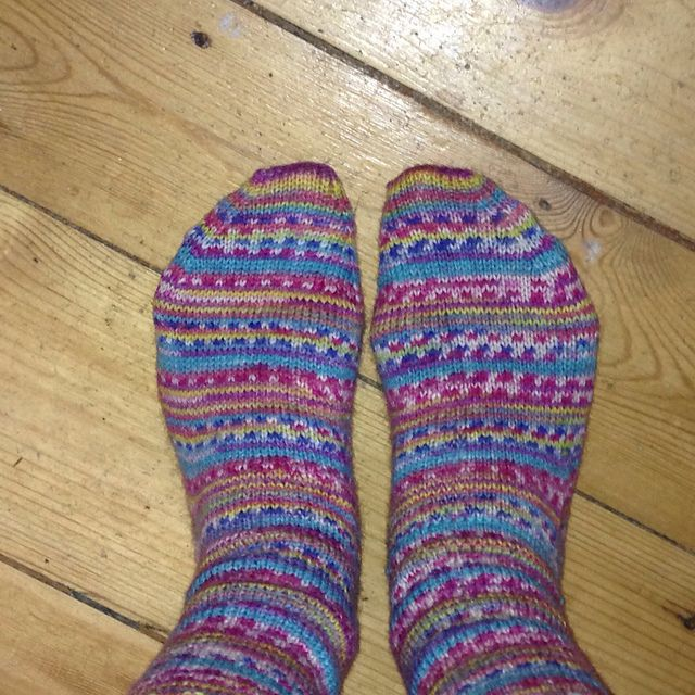 Knitting Socks For Beginners : Ravelry adult sock for beginners pattern by louise
