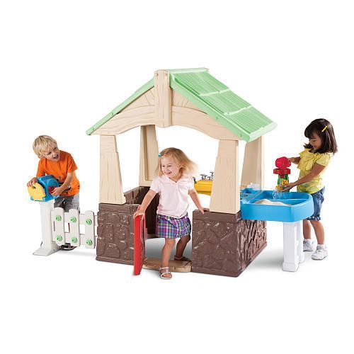 78 Ideas About Little Tikes Playhouse On Pinterest Little Tikes Makeover Plastic Playhouse