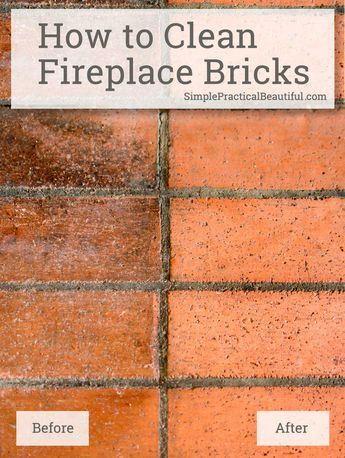 Cleaning brick fireplaces and Brick fireplace log burner