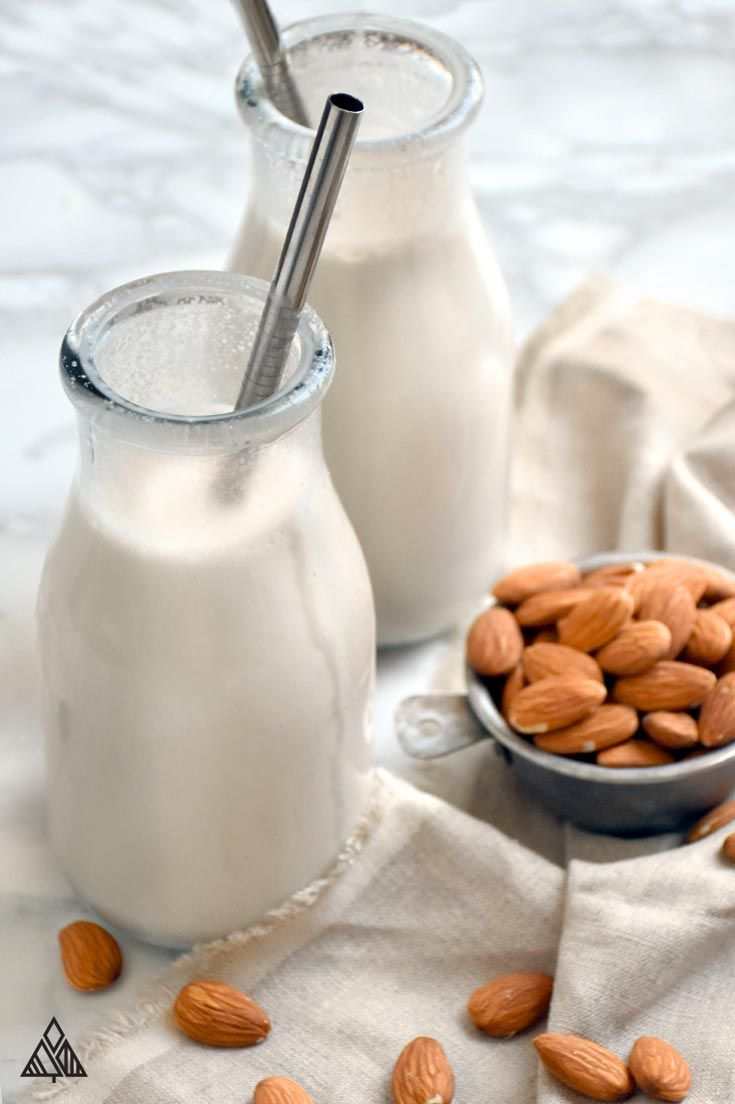 Make a Sunday batch, be stoked all week // Almond Milk Recipe