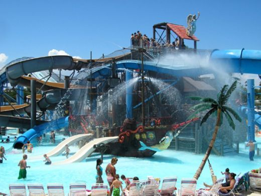 Adventure Island, Tampa. Fun for the whole family! My fav. place to go when I lived in Clearwater area.