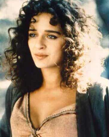 Valeria Golino. Remember her? I always thought she was so beautiful in movies.