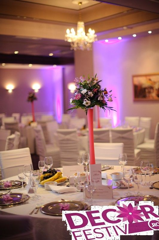 decor nunta la Restaurant Dumbrava
