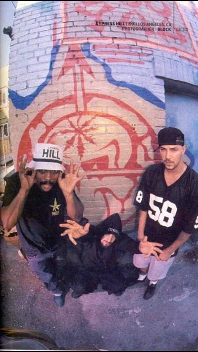 CYPRESS HILL // Play the streets so tough, when I was growing up, thought I'll never get enough
