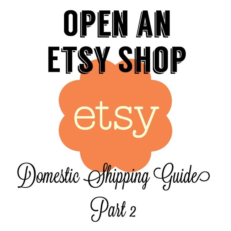 Kathy at The Salvaged Boutique provides information on Part 2 of How to Open an Etsy shop - a guide to shipping on Etsy.