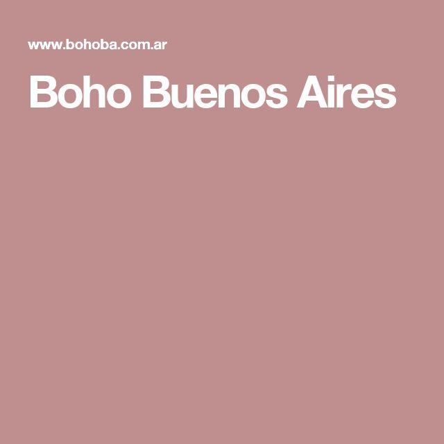 Boho Buenos Aires