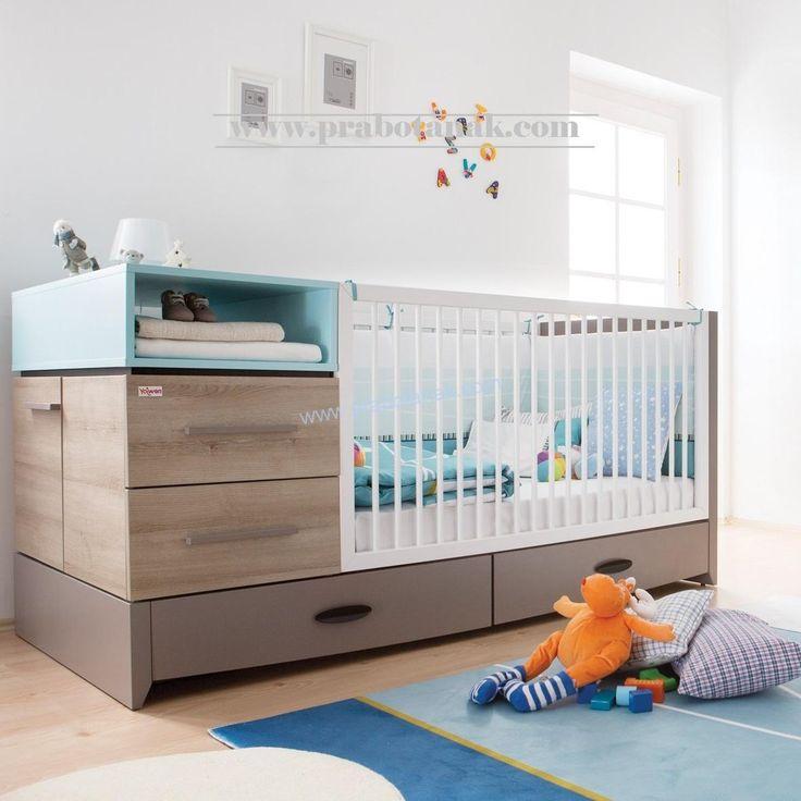 Jual Tempat Tidur Bayi Murah Minimalis dari bahan baku kayu mahoni kuat solit untuk anak bayi bunda pasti aman dan nyaman harga terjangkau spesial utnuk c