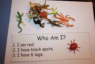 """Play the """"Who am I?"""" game to get children to be interactive and learn"""