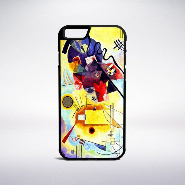 Wassily Kandinsky - Yellow-Red-Blue Phone Case – Muse Phone Cases
