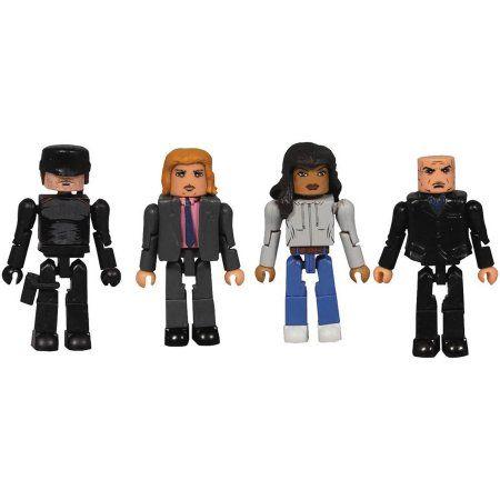 Diamond Select Toys Marvel Netflix Minimates Daredevil Series 1 Box Set