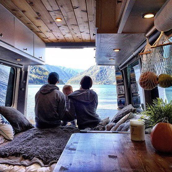 Nothing like taking the Sprinter Camper Van and the whole fam to Olympic Peninsula's Lake Crescent.   @sprint2explore    Regram via @sprintercampervans
