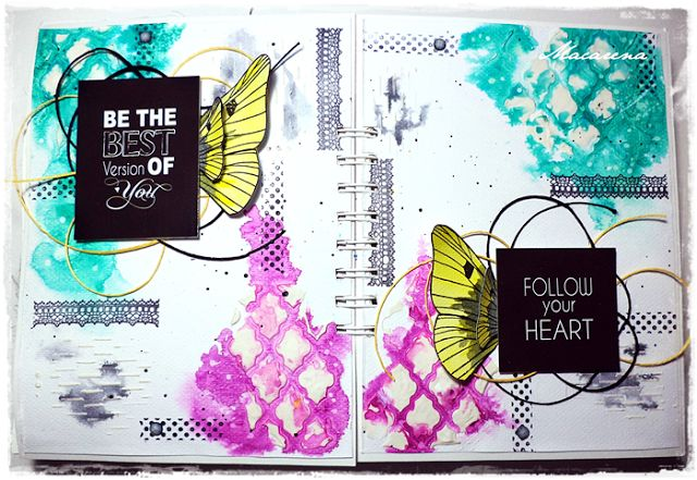 Best Version of Me - Art Journal