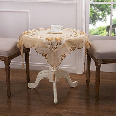 Embroidery Tablecloth Classical Tablecloth 30'' – USD $ 3.99