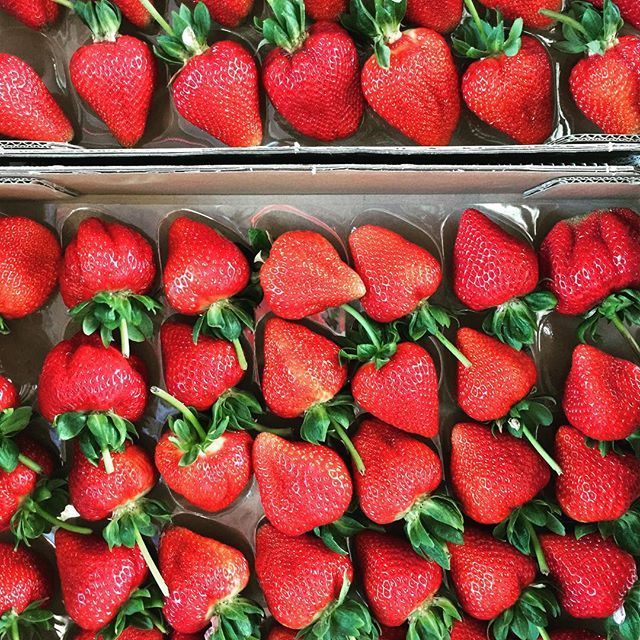 Summer = #keepitlocal #loveyourlocal #yourgrocer #summer #strawberries @pinosfineproduce