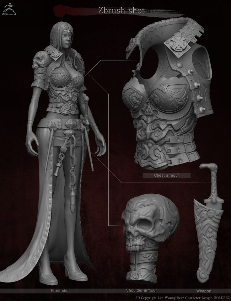 GGSCHOOL, Designer 이웅비, Student Portfolio for game, 3D Character Design, www.ggschool.co.kr
