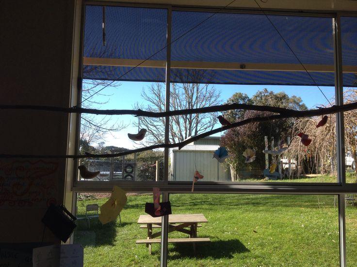 Bird window art