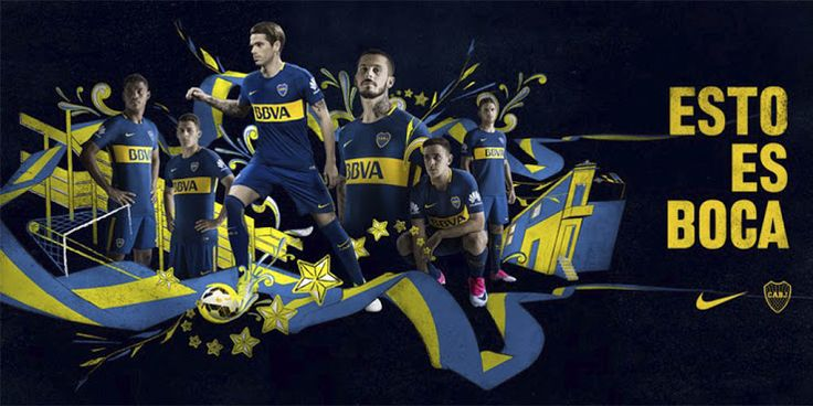 Boca Juniors 17-18 Home and Away Kits Revealed - Footy Headlines