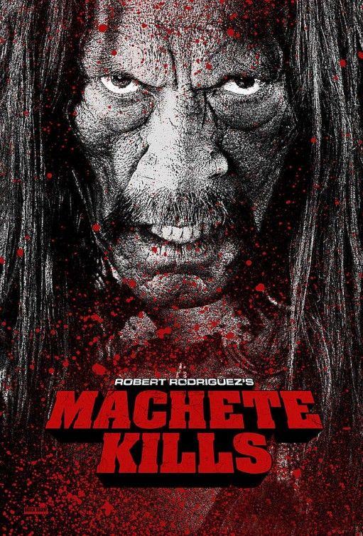 Danny Trejo as Machete in Machete Kills. Coming 2013