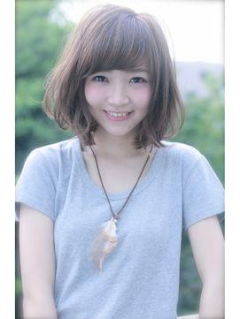 Euphoria 【ユーフォリア】SHIBUYA GRANDE 【Euphoria】ラフさと甘さが可愛い☆小顔ボブ☆グレージュ