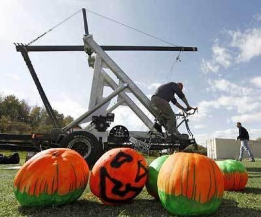 Pumpkin smashers conquer Amesbury Sports Park, eye Punkin Chunkin ...
