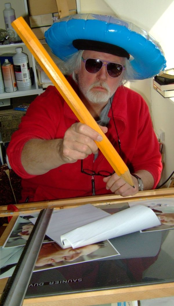 Exto Interview met Fred van der Wal rian  Berichten: 2781  Naam: Fred van der Wal Woonplaats: SintAnnaparochie Opleiding: Ateliers '63 Discipline: olieverf/tekening/fotografie/collage/…