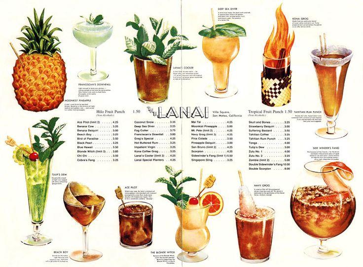 25 Best Ideas About Drink Menu On Pinterest: 25 Best Tiki Rum Images On Pinterest