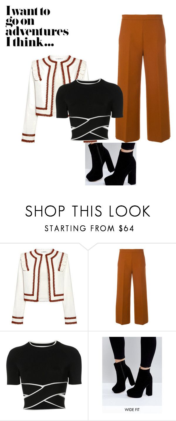 """Where will we go today?"" by jess-heppell-designer on Polyvore featuring Ganni, MSGM, T By Alexander Wang and ASOS"