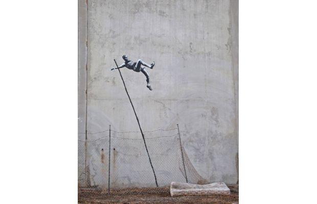 Banksy x The Olympics: Streetart