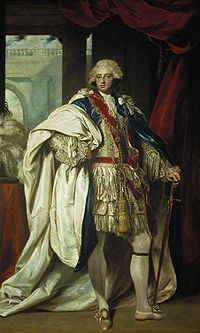 Prince Frederick, Duke of York (1763 - 1827). Son of King George III and Queen Charlotte. He married Princess Frederica Charlotte of Prussia and had no children.