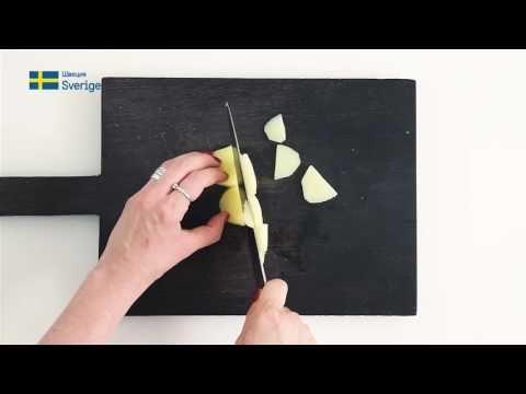 Шведская кухня: гравлакс с картофельным салатом - Sweden.ru - YouTube