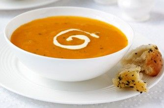 Carrot and coriander soup - Diet soups