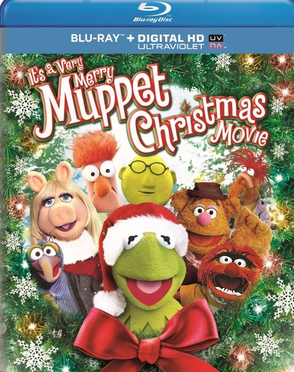 It's a Very Merry Muppet Christmas Movie [Blu-ray] 2002 - Larger Front
