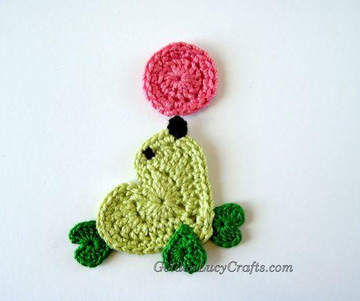 Seal Applique Crochet free pattern