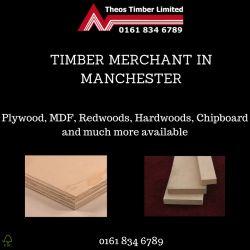 Timber merchants in Manchester.