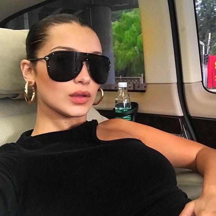 Pin By Asli On Hadid Sistas Fashion Sunglasses Women Celebrity