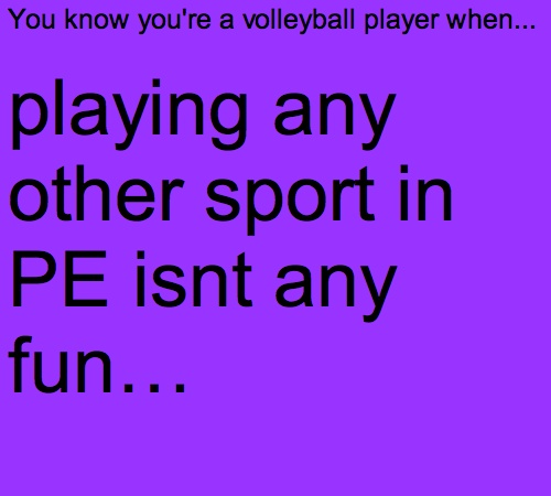 Volleyball Problems