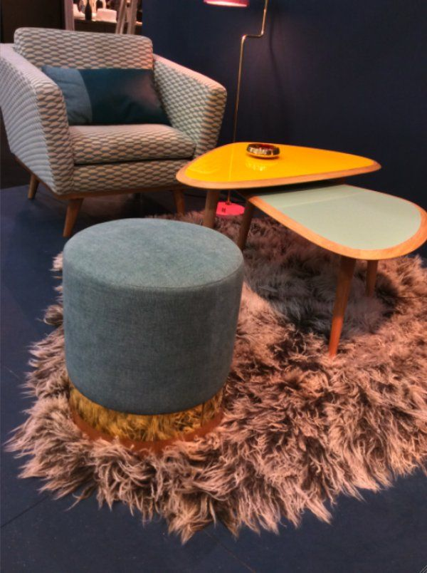 Tabouret rond - Red Edition