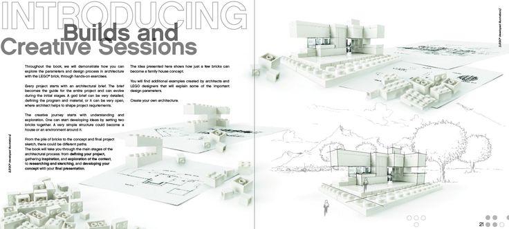 LEGO® Architecture Studio guidebook: Lego Architecture, Architecture Studios, Studios Guidebook, Architecture Inspiration, Studios 21050