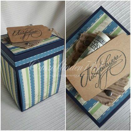 Купить или заказать коробка-открытка' Настоящий мужчина' в интернет-магазине на Ярмарке Мастеров. Коробка-открытка в подарок для мужчины, парня, коллеги. В кубке вы можете поместить ваш денежный подарок. По бокам, я могу напечатать ваше поздравления и пожелания. Оригинальный подарок на день рождения.