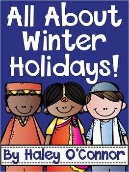 This pack is FULL of engaging activities to use as your class studies Winter holidays. Holidays included in this pack include-Christmas in America -Hanukkah-Kwanzaa-Diwali-Ramadan-Chinese New Year In this pack you will find -An interactive reader for each holiday.