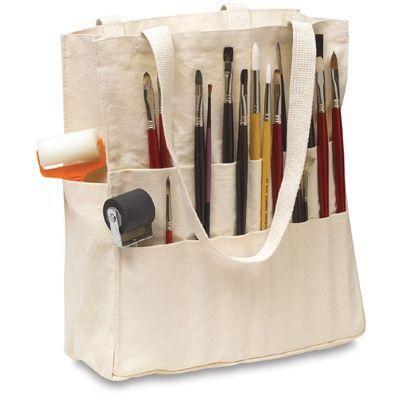 Bolsa Para Pintura Prática em Algodão Caranmo