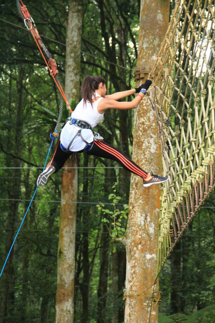 Guests from Egypt at Bali Treetop Adventure Park www.rudisbalitours.com