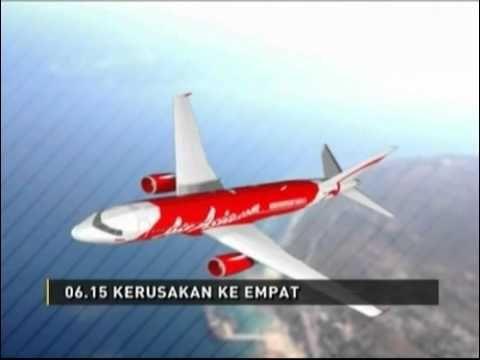 Kronologis Jatuhnya Pesawat AirAsia QZ8501