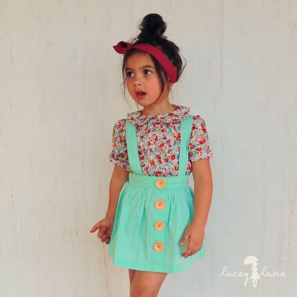 Lacey Lane suspender skirt