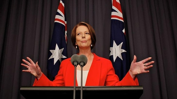 Julia Eileen Gillard is former Prime Minister of Australia (27th) and former Australian Federal Labor Party leader.She is the first female prime minister of Australia,and the first female deputy prime minister and Australia Labor Party's first female leader(Mars)