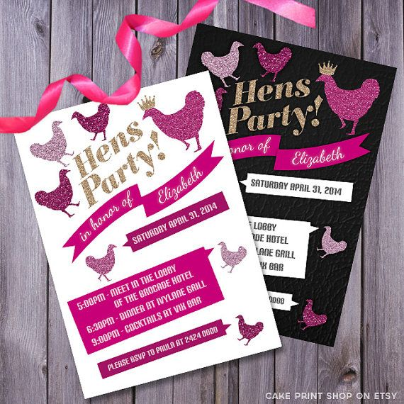 Best 25+ Hens Party Invitations Ideas On Pinterest